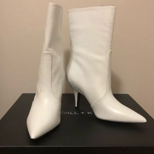 Kendall and Kylie White Boots